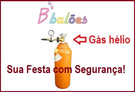 Balões com gás hélio é Seguro?