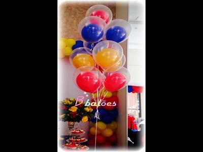 Decoração de balões brinquedos